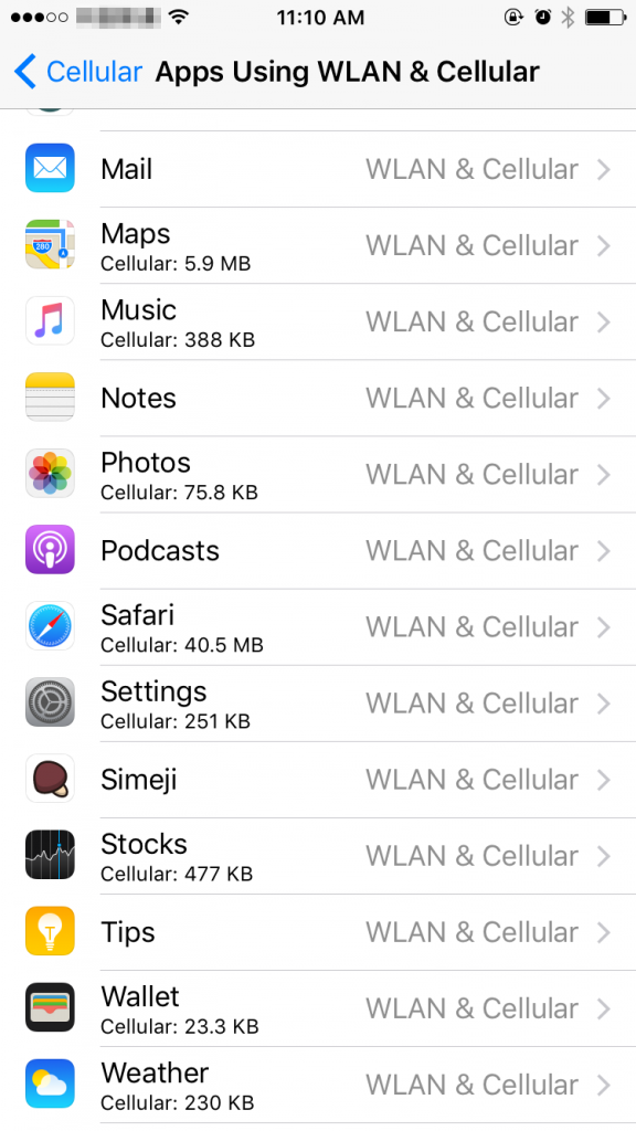 How to Check Data Usage on iPhone