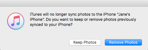 How to Remove Synced Photos from iPhone 7/7 Plus