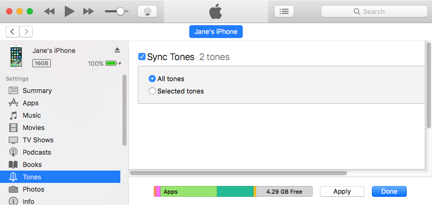 How to Sync Ringtones to iPhone