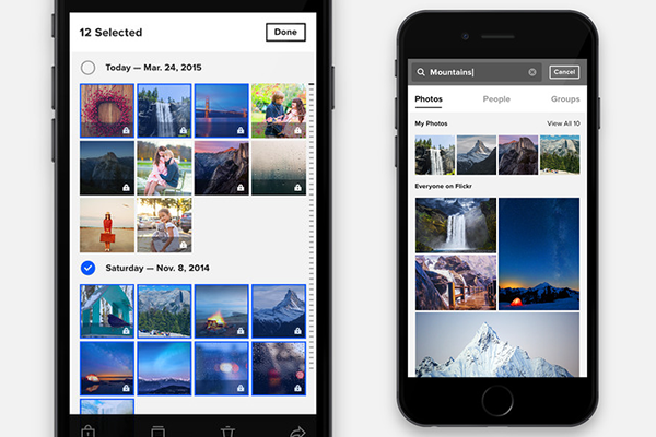 Best iCloud Alternative to Backup Photos - Flickr
