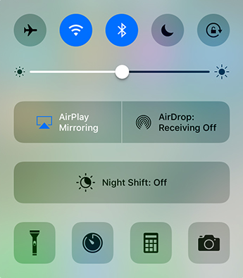 AirPlay Mirroring in iOS 10