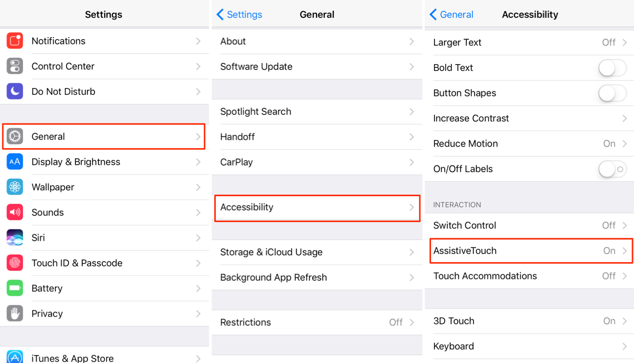 How to Turn On/Off AssistiveTouch on iPhone